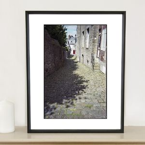 Alley, Granville, France, Photographic Art Print