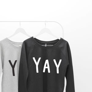 Yay Oversized Women's Sweater - gifts for friends