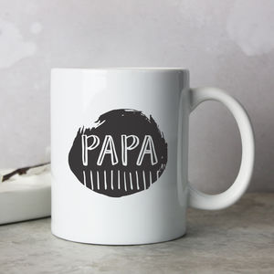 'Papa' Father's Day Mug - new in home