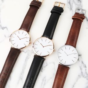 Lisa Angel Watch With Leather Strap - watches