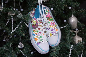 Under The Sea Colour In Children's Shoes - baby brights
