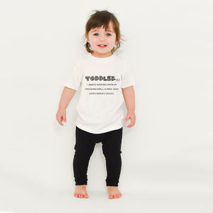 'Toddler' Definition T Shirt - clothing
