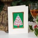 Vintage Tree Christmas Card