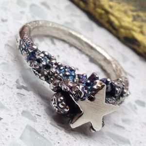 Silver Star Ring - rings