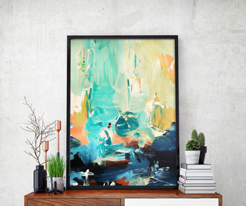 Abstract 27 Limited Edition Fine Art Print A4 Size