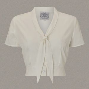 Authentic 1940s Vintage Blouse - blouses