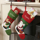 Personalised Traditional Children's Christmas Stockings