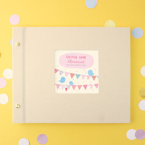 Personalised Christening Photo Album