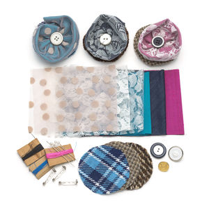 Diy Silk And Lace Brooch Making Kit - interests & hobbies