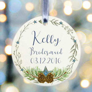 Bridesmaid Gift - home accessories