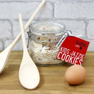 Kids Jazzie Cookie Baking Jar - make your own kits