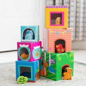 Set Of Children's Stacking Cubes