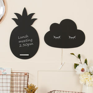 Wall Mount Fun Shaped Chalkboard Selection - kitchen accessories