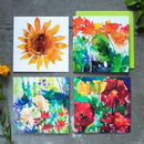 Sunflower Garden Card Collection