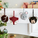 Personalised Animal Hanging Decorations