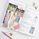 Wedding Planner Book Blush Rose Gold Foil