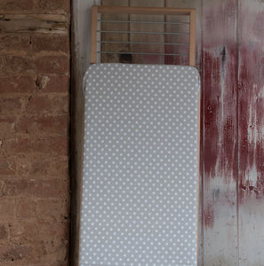 Grey Polka Dot Ironing Board