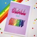 Small But Mighty Greeting Card