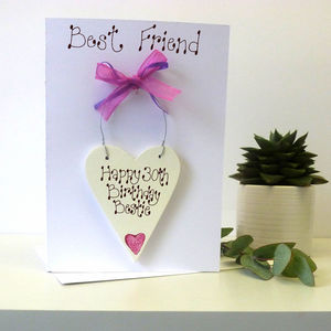 Best Friend Personalised Birthday Card