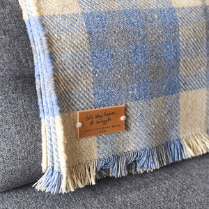 Personalised Blanket Or Throw - throws, blankets & fabric