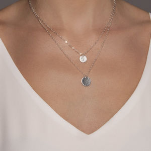 Sterling Silver Layered Initial Necklaces