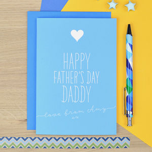 Father's Day Card For Daddy