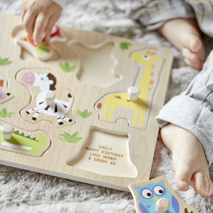 Personalised Wooden Puzzle