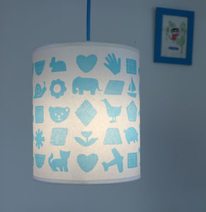 Shapes and Things Pendant Lampshade