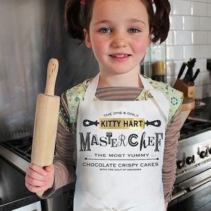 Personalised 'Best Chef' Childrens Apron