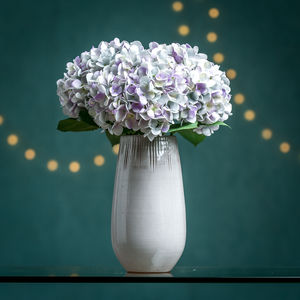 Hydrangea Faux Flower Stem - artificial flowers