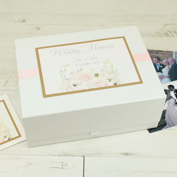 Personalised Charlotte Wedding Memory Box