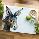 Inky Donkey Glass Worktop Saver