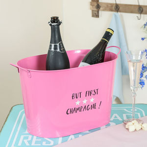 Pink Champagne Large Bottle Wine Cooler - wine coolers, ice buckets & trays