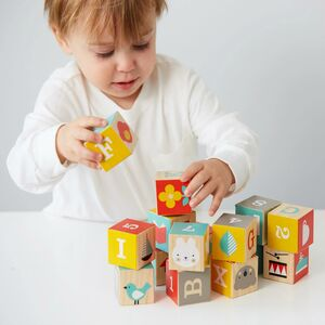 Colourful Wooden Stacking Blocks