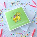 Chase Your Furry Tail! Greetings Card