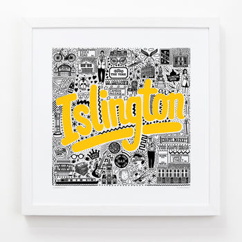 Islington Hometown Print