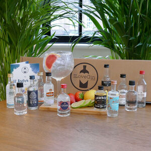 12 British Gins Tasting Gift Set