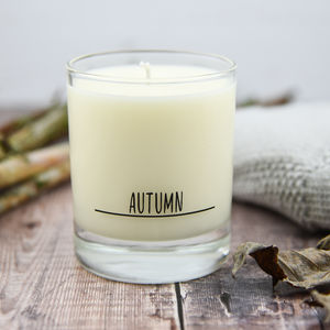 Autumn Scented Candle For The Home - home accessories
