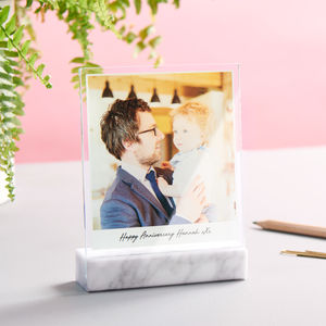 Personalised Marble And Glass Photo Print - our top new picks