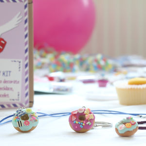 Donut Jewellery Craft Letterbox Kit - stocking fillers for babies & children