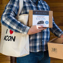 I Heart Bacon Tote Bag And Make Your Own Bacon Gift Set