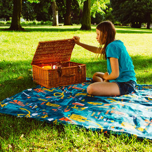 Snakes And Ladders Waterproof Family Picnic Mat