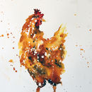 Chicken Painting, Henrietta