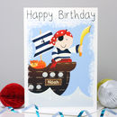 Personalised Pirate Any Occasion Gift Card