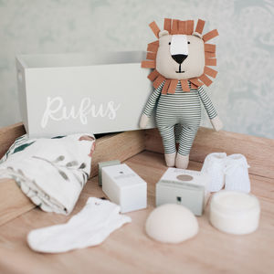 Personalised Wooden Baby Gift Box Create Your Own