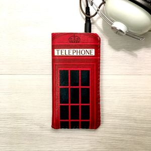 British Phone Box Phone Case Made To Fit - phone covers & cases