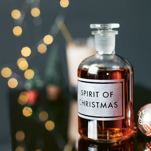 'Spirit Of Christmas' Decanter - christmas free delivery to mainland UK