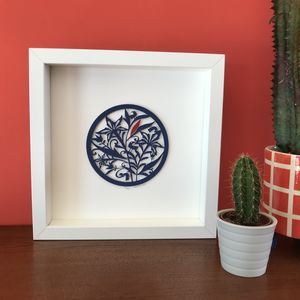 Midwinter Floral Limited Edition Papercut