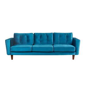 New York Velvet Three Seater Sofa