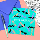 Cavatappi Birthday Card